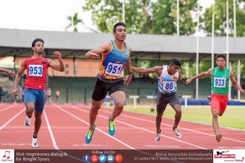 Sprinter Yupun Abeykoon sets new record in Germany